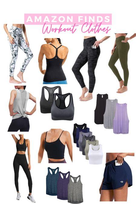 Amazon finds! Favorite workout clothes!  #LTKfit #LTKfamily #LTKunder50