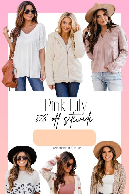 25% off all Pink Lily!