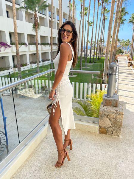 White dress for brides to be or for beach vacation   #LTKstyletip #LTKtravel #LTKswim