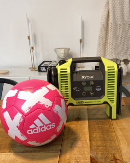 When you want to start teaching your toddler how to play soccer! Adidas ball & inflator! http://liketk.it/3757B #liketkit @liketoknow.it #LTKsalealert #LTKbaby #LTKkids @liketoknow.it.home @liketoknow.it.family