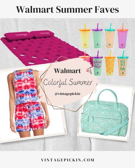 Recent Walmart Snags ➤ The cutest Tie Dye short set for Juniors or Tweens + this cute aqua weekender bag, color changing tumblers & comfy pool float mattress!  #poolfloat #summeraccessories #shortset #weekenderbags    http://liketk.it/3hmGA #liketkit @liketoknow.it #LTKDay #LTKkids #LTKfamily @liketoknow.it.family @liketoknow.it.home