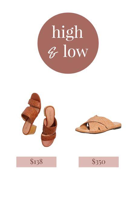 High low woven sandals, madewell mules, woven slide sandals  #LTKSeasonal #LTKshoecrush