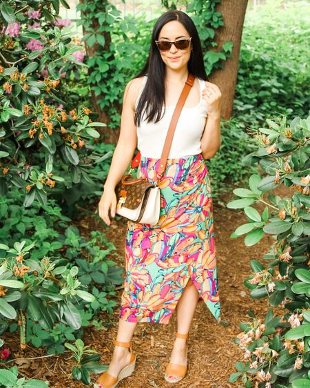 I love this skirt for summer. It's so comfortable, and the wrap style is so flattering. http://liketk.it/3h8Dn #liketkit @liketoknow.it #LTKstyletip #LTKtravel