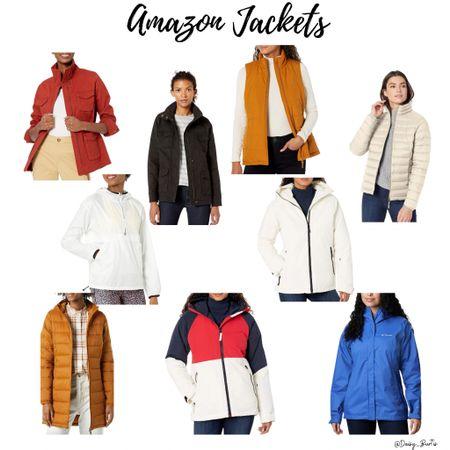 So many darling coats & jackets available on Amazon Prime!!    #LTKHoliday #LTKunder50 #LTKSeasonal