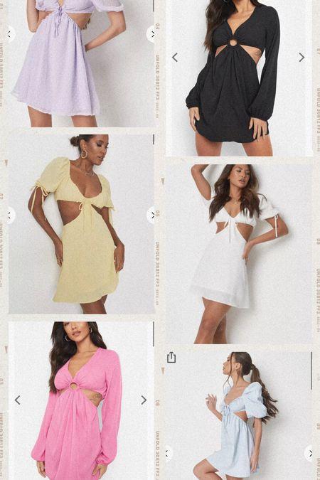 Some cut out dresses all under $30!  #LTKunder100 #LTKunder50 #LTKstyletip