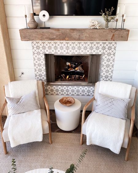 Outdoor patio decor, chairs are under covered space, patio decor, Stylinaylinhome @liketoknow.it #liketkit http://liketk.it/3hj7e   #LTKhome #LTKstyletip #LTKunder100