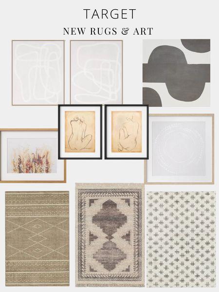 Affordable art, rugs, runners, target  #LTKhome #LTKfamily #LTKsalealert