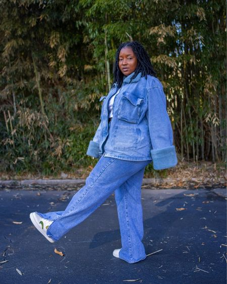 I have waited too long to recreate a all jeans outfit. This brings me childhood memories. Can I also add how much this jean jacket is fabulous with the faux fur?  Follow me on Instagram @wonder.fro for more looks and pictures    http://liketk.it/3bhhN #liketkit @liketoknow.it @liketoknow.it.europe @liketoknow.it.home @liketoknow.it.family @liketoknow.it.brasil #LTKcurves #LTKshoecrush #LTKsalealert