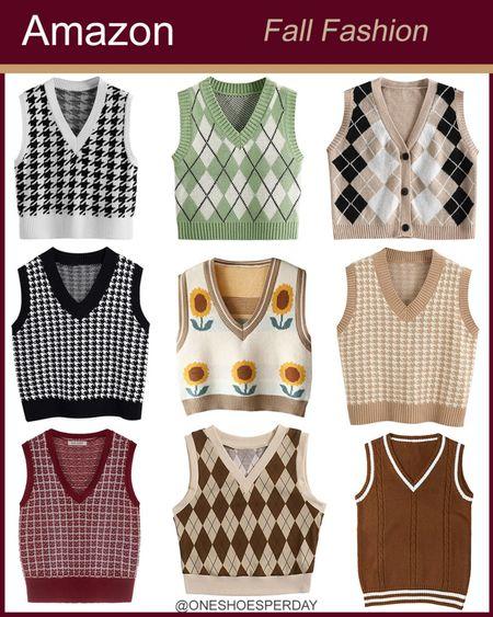 Amazon Fashion  Sweater Vests        http://liketk.it/3q0B6 @liketoknow.it #liketkit #LTKGiftGuide #LTKSeasonal #LTKsalealert #LTKtravel #LTKunder50 #LTKworkwear #LTKFall | Travel Outfits | Teacher Outfits | Casual Business | Blazers | Blazer | Fall Outfits | Fall Fashion | Pumpkins| | Pumpkin | Booties | Boots | Fall Boots | Winter Boots | Bodysuits | Leggings | Halloween | Shackets | Plaid Shirts | Plaid Jackets | Activewear | White Sneakers | Sweater Dress | Fall Dresses | Sweater Vests | Denim | Jeans | Cardigans | Sweaters | Faux Fur Jackets | Faux Leather Pants | Faux Leather Jackets |Coats | Fleece | Jackets | Bags | Handbags | Crossbody Bags | Tote | Wedding Guest Dresses | Gifting | Gift Guide | Gift Ideas | Gift for Her | Mother in Law Gifts | Leather Pants | Winter Outfits | Puffer Jackets | Christmas | Christmas Gifts | Holiday |