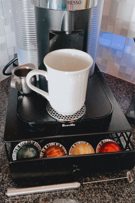 Coffee, kitchen, and dishes we use! My Nespresso Vertuo is legit a part of the family here lol Love my frother too also linked to blend in my milks, collagen powder.  Also linked a few wine, bar accessories and defined dish cookbook that I love ❤️ http://liketk.it/2SD5g @liketoknow.it #liketkit #LTKDay #LTKhome