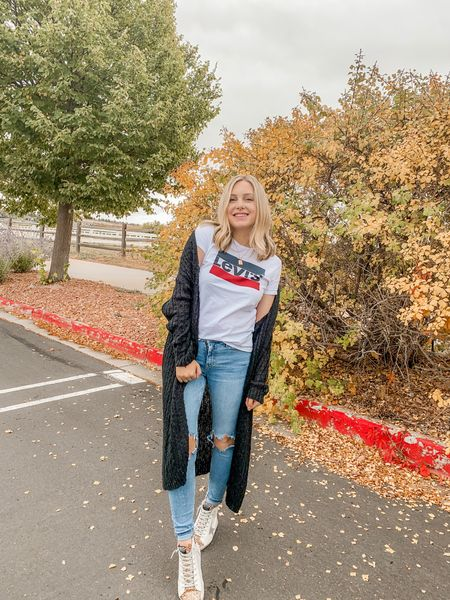 hello fall 🍂😍 snapped this outfit pic after my grandma (Lucy's GG) took us to lunch yesterday! We had so much fun! . . .   #LTKSeasonal #LTKstyletip #LTKunder50