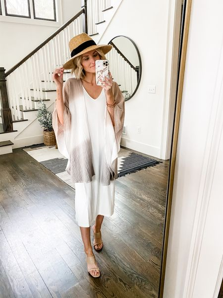 This kimono was just restocked! Wear over a dress for summer and then a tank and jeans come fall.   #LTKstyletip #LTKsalealert #LTKunder100