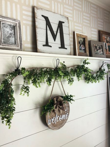 Beautiful and welcoming decor for your entryway. I love making your home welcoming for your guests.   Shop your screenshot of this pic with the LIKEtoKNOW.it shopping app @liketoknow.it @liketoknow.it.home #liketkit #LTKunder50 #LTKhome #LTKstyletip http://liketk.it/3gMOB