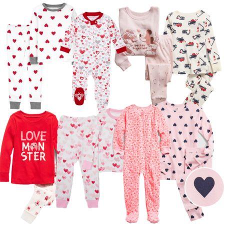 Valentines Day pajamas! Kids pajamas. Baby pajamas. Holiday pajamas.   http://liketk.it/35ixA #liketkit #LTKbaby #LTKfamily #LTKunder50 @liketoknow.it @liketoknow.it.family