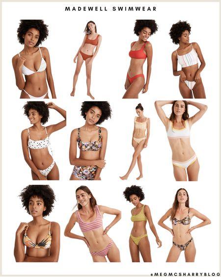 Madewell has such cute swimwear this year! On trend bikinis, solid & striped collaboration and more http://liketk.it/3hakP #liketkit @liketoknow.it #LTKunder50 #LTKunder100 #LTKswim