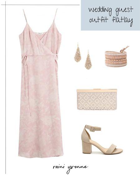 Wedding Guest Outfit  http://liketk.it/3cNAN @liketoknow.it #liketkit   #LTKsalealert #LTKstyletip #LTKwedding   Wedding Guest Outfit, Wedding Guest Dress, Summer Dress, Summer Fashion, Spring Dress, Spring Fashion, Floral Print, Pink Dress, Jewelry, Earrings, Bracelet, Victoria Emerson, Nordstrom Rack, Sale, Rose Gold, Nude Heels, Formal Outfit