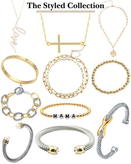 Every day jewelry. The styled collection. Necklaces. Bracelets. Coin necklace. Gifts for her. Gifts under $50! http://liketk.it/31YoB #liketkit @liketoknow.it #LTKgiftspo #LTKunder50 #LTKsalealert