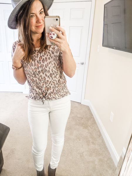 Super cute leopard tee for spring in lighter apricot color (comes in other colors too).    http://liketk.it/2JwxY @liketoknow.it #liketkit #LTKsalealert #LTKstyletip #LTKunder50 #LTKunder100 Screenshot or 'like' this pic to shop the product details from the LIKEtoKNOW.it app, available now from the App Store! Follow FigAndRoses 💋