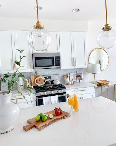 A clean kitchen is happiness :) All items featured in my white kitchen is linked ! #LTKkitchen #WhiteKitchenDecor       #LTKhome