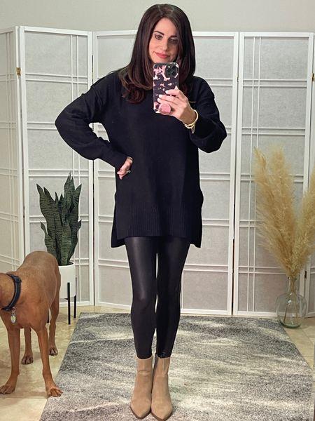 #tunicsweater  #spanx  #falllook   #LTKstyletip #LTKSeasonal