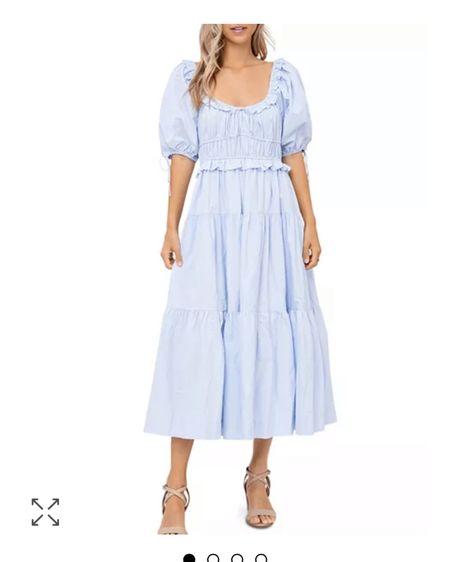 http://liketk.it/3fPnY #liketkit @liketoknow.it best ulla Johnson dupe dress!