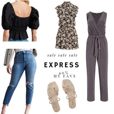 Express 40% off sale!!  #LTKSpringSale #LTKSeasonal #LTKunder50