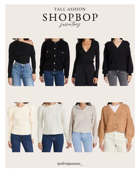 Shopbop sweaters for fall/winter. 🖤  #LTKunder100 #LTKHoliday #LTKSeasonal