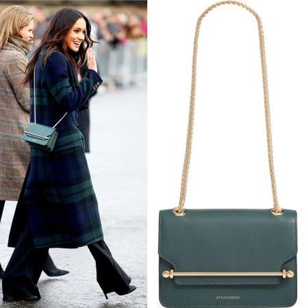 Meghan carrying Strathberry #bag #purse   #LTKeurope