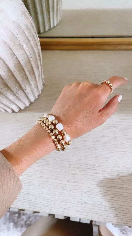 Stylin by Aylin collection, 14k gold filled jewelry, fresh water Pearl, gift ideas, use code STYLIN10 at checkout for 10% off  #LTKSeasonal #LTKstyletip #LTKGiftGuide