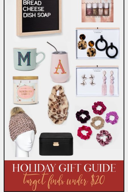 http://liketk.it/30MzG #liketkit @liketoknow.it #LTKsalealert #LTKunder50 Holiday Gift Guide. Target finds under $20