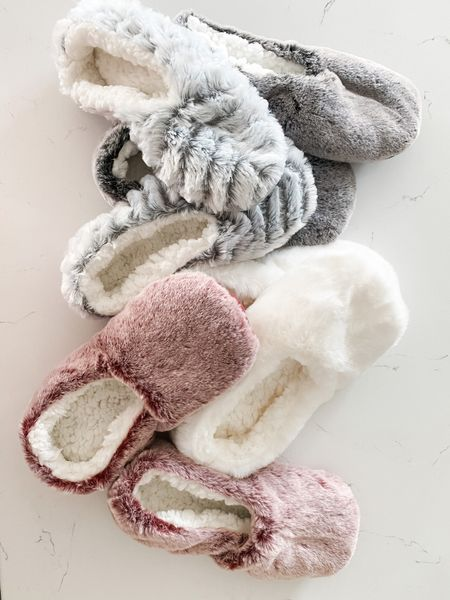 The best and softest slipper socks ever and they're under $10!!  #LTKhome #LTKsalealert #LTKfamily