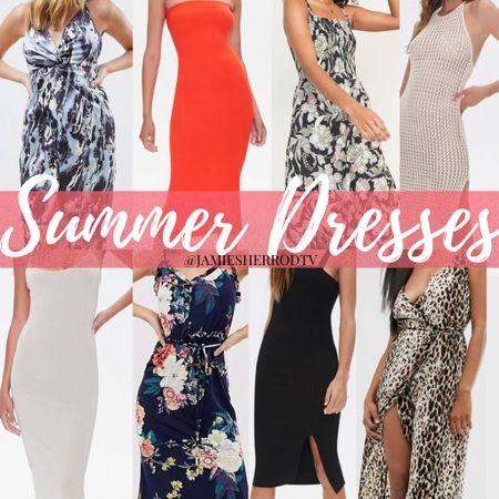 Summer Dresses Under $40 ☀️👗  #LTKunder50 #LTKSeasonal #LTKunder100