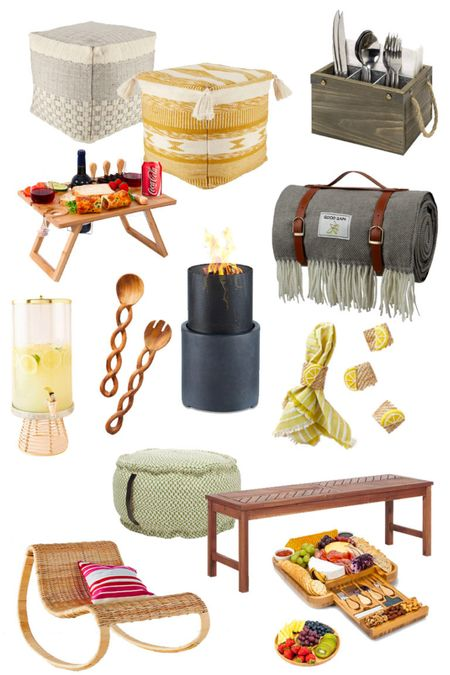 Create the perfect at home picnic right in your own backyard!   #LTKhome #LTKfamily #LTKitbag