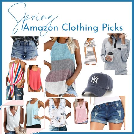 My top Amazon picks for spring and summer.  A lot of these pieces I've kept from previous years to wear again!  http://liketk.it/3cidc #liketkit @liketoknow.it #LTKcurves