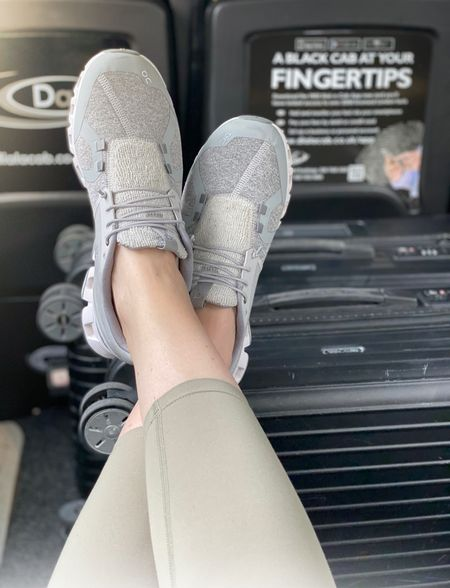 Still loving my On Cloud shoes for running around town. The neutral color works with all of my capsule workout wardrobe.  Please note these are not for working out - they don't have enough support for running or kickboxing etc - but they are a great throw on (and I do daily) for everyday wear.   #LTKfit #LTKtravel #LTKGiftGuide