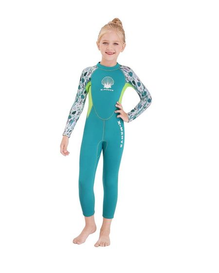 Kids wetsuit thermal swimsuit for cold water swimming. Ordered this for my daughter so we can get a jumpstart on swim lessons even when the pool is chilly!  http://liketk.it/3dOqa #liketkit @liketoknow.it @liketoknow.it.family #LTKkids #LTKfamily #LTKunder50
