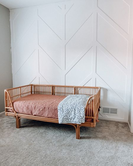 If you need me I'll be curled up on Charlee's ✨ dreamy ✨ new big girl bed crying because for the first time in eight years we no longer have a CRIB in our house. 😭  Charlee will be 3️⃣ on Monday and I'm in disbelief a little bit.   Her big girl room is coming along slowly but we finally were able to get her bed set up last night and she LOVES it.  We will be celebrating her birthday with family this weekend and spoiling our sister girl as much as we can. ✨  Hope you all have a safe and happy Labor Day! 🇺🇸   Follow me on the @liketoknow.it shopping app to get the product details for this pic! http://liketk.it/2VSuk     #StayHomeWithLTK #LTKhome #liketkit