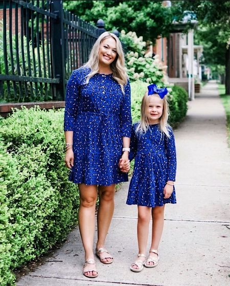 Adorable mommy and me leopard print dresses from Duffield lane   #LTKfamily #LTKkids #LTKSeasonal