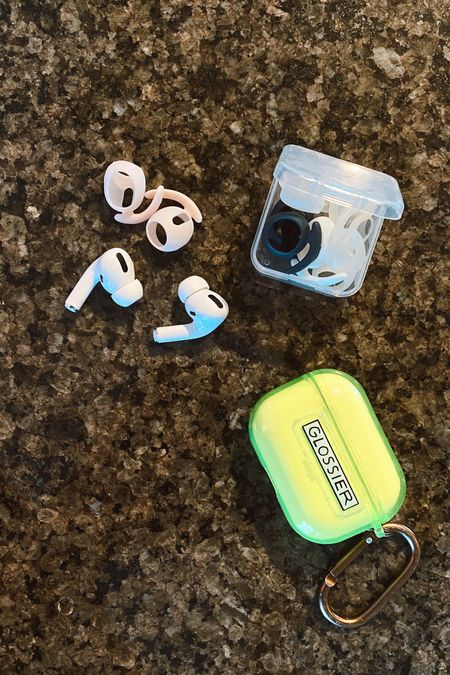 These airpod skins actually allow me to run in airpods! They come in tons of colors and last forever. My ears are small so no matter what size attachment I use, they always fall out. Shop them all and my case here!   #LTKhome #LTKunder50 #LTKfit