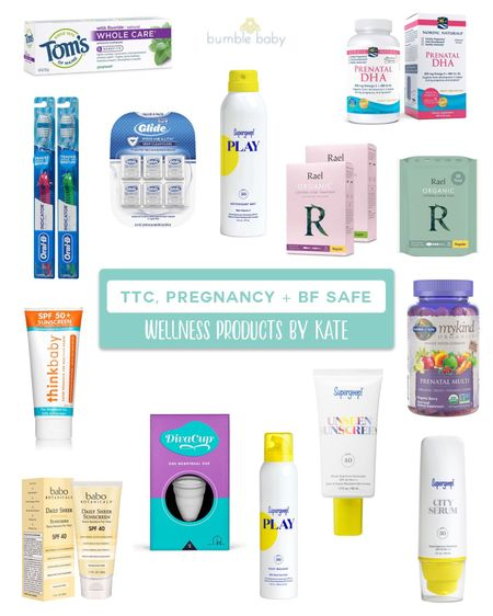 Kate's Favorite TTC, Pregnancy, and Breastfeeding Safe Products: Wellness @liketoknow.it #liketkit http://liketk.it/3eh6L #LTKunder50 #LTKbeauty #LTKbaby