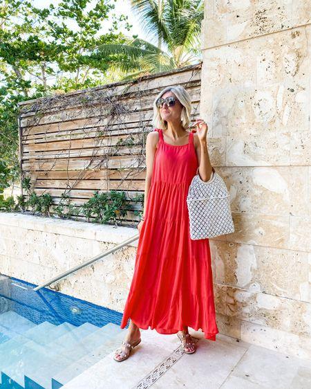 Mud pie red dress - great for summer! http://liketk.it/3iffN #liketkit @liketoknow.it