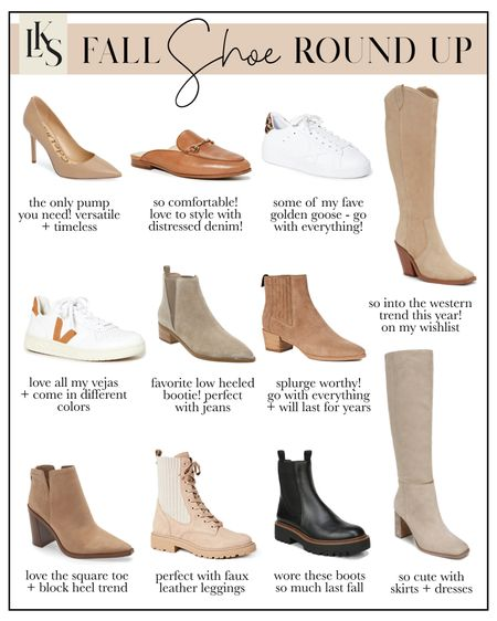 my fall shoe favorites 😍🍁 #booties #fallfashion  #LTKshoecrush #LTKSeasonal