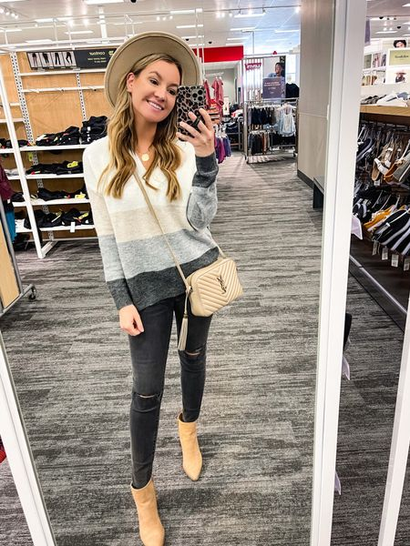 Walmart under $20 striped sweater! Size small!   #LTKunder50 #LTKsalealert #LTKstyletip