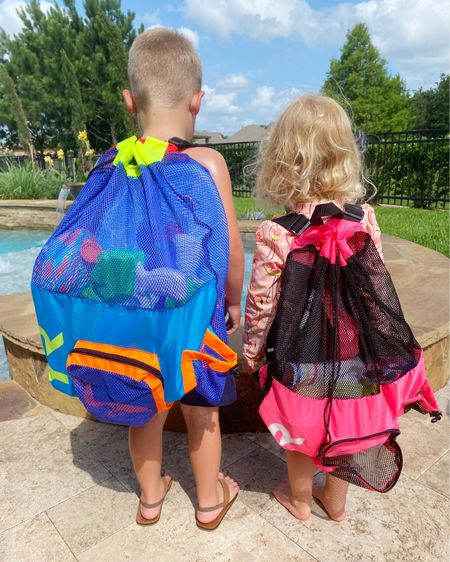 These mesh bags (and other items linked) are all perfect for sweet summer time☀️! The kids are loving having their own pool bags 💦 with ALLL the toys 🔫 (that they can carry themselves - can I get an AMEN 🙌🏼)! Now Mama's cute pool bag is free for her own use - with snacks included of course.    http://liketk.it/3hcrF #liketkit @liketoknow.it #LTKDay #LTKfamily #LTKseasonal #LTKswim @liketoknow.it.family
