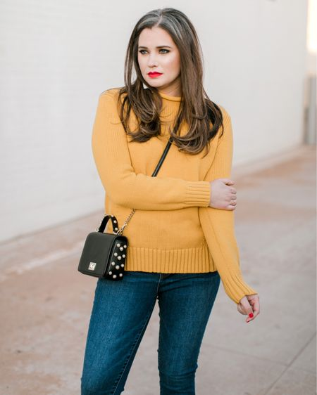 This fall, J.Crew brought back a style that was made extremely popular in the 1980s. Not kidding, I was so excited about this timeless style, I scooped up one in golden straw and another in warm ivory. Today it's on sale for less than $40 🙌🏼!  http://liketk.it/2yKvG #liketkit @liketoknow.it #LTKsalealert #LTKunder100 #LTKunder50