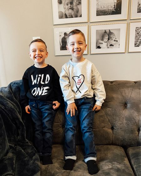 All the feels this morning because we signed these boys up for blast ball and had our first team meeting last night. 🥺 I'm excited and scared and all the things, but I think they're gonna have fun - even if it means picking grass on the field. 🤣 But more importantly, their jersey #s... Liam is 3 (Jordan's favorite number), and Knox is 24 (Jordan's birthday). We couldn't start sports without incorporating Uncle Bebo. 🖤🎈#itsthelittlethings #knoxandliam http://liketk.it/39CAK #liketkit @liketoknow.it #LTKkids