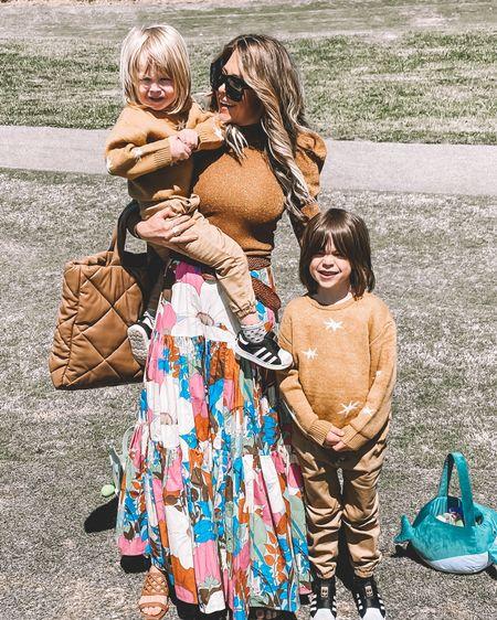 Shopbop Spring Outfit Inspo - Colorful Skirt Outfit http://liketk.it/3cMeg #liketkit @liketoknow.it #LTKshoecrush #LTKstyletip