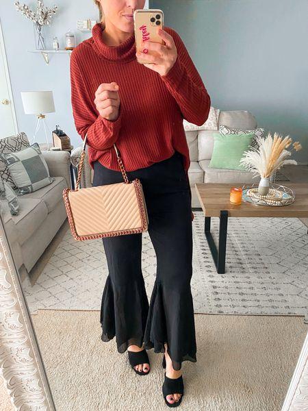 Fall outfit. Amazon fashion. Thanksgiving outfit idea   #LTKunder50 #LTKSeasonal #LTKitbag