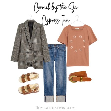 Carmel by the Sea - this outfit is perfect for cocktails at Cypress Inn. #mad http://liketk.it/3p2Pi ewell @liketoknow.it #liketkit #LTKfit #LTKstyletip #LTKtravel #LTKSeasonal Download the LIKEtoKNOW.it app to shop this pic via screenshot