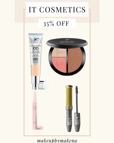 http://liketk.it/3cEO4 #liketkit @liketoknow.it #LTKSpringSale #LTKbeauty #LTKsalealert This weekend, save 35% off sitewide at IT Cosmetics, including this best selling CC cream, for the LTK Spring Sale.